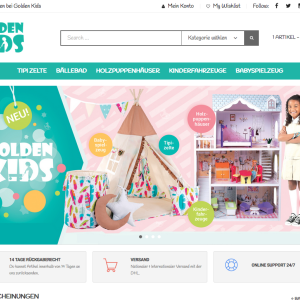 Golden Kids Onlineshop